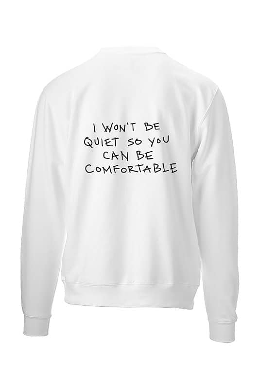women apparel I Won't Be Quiet So You Can Be Comfortable Jubsies Womens Apparel Co